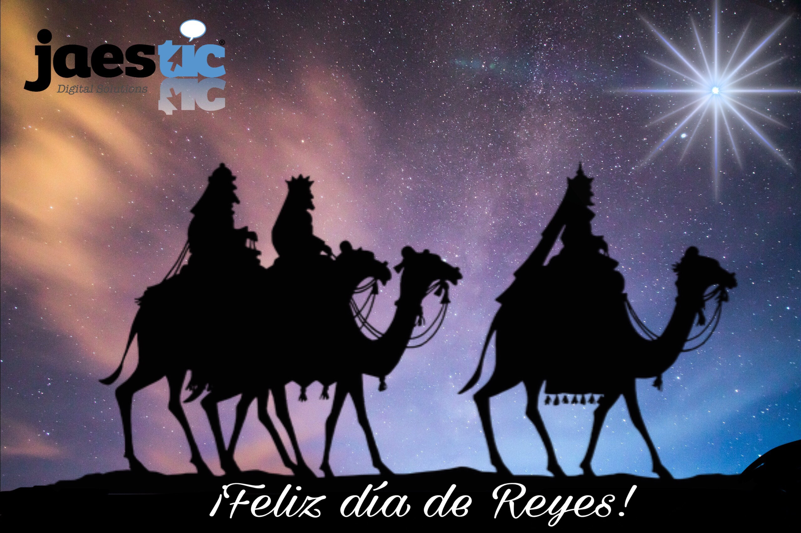 Jaestic us desitja Feliç dia de Reis!